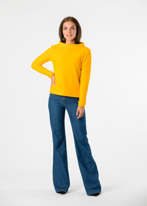 Brighton Boatneck Top (Marigold) TH