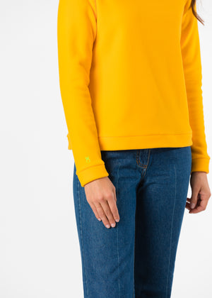 Brighton Boatneck Top (Marigold)