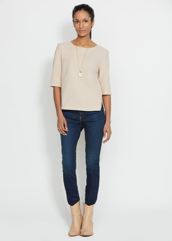 Carroll St Top (Natural Blush)