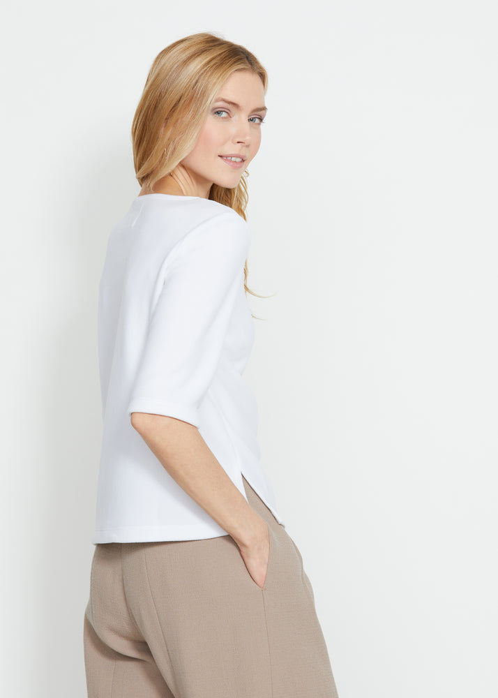Carroll St Top (White)