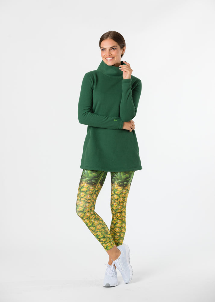 Cobble Hill Turtleneck (Green) TH