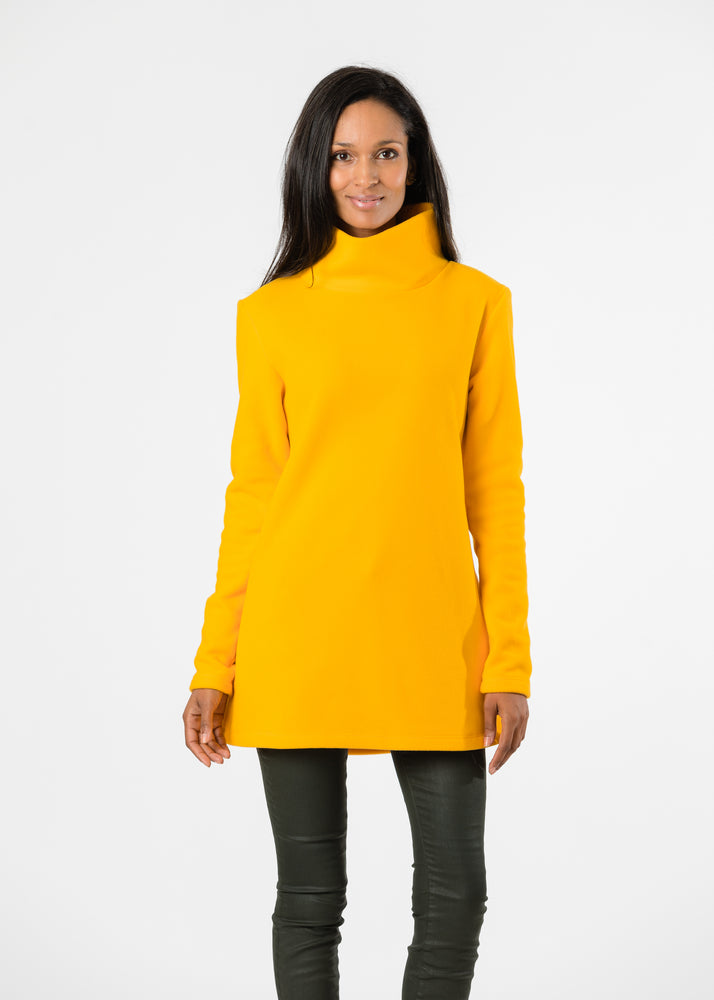 Cobble Hill Turtleneck (Marigold) TH