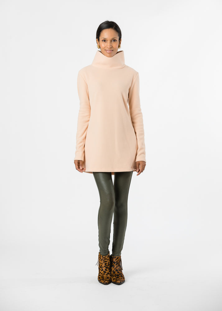 Cobble Hill Turtleneck (Natural Blush) TH