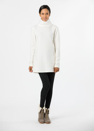 Cobble Hill Turtleneck (Off-White) TH