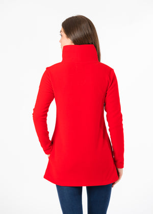 Cobble Hill Turtleneck (Red) TH