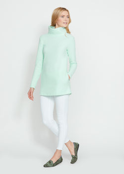 Cobble Hill Turtleneck (Mint Green)