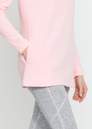 Cobble Hill Turtleneck (Pink) TH