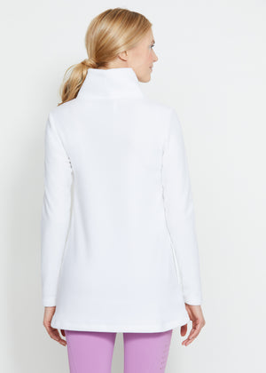 Cobble Hill Turtleneck (White)