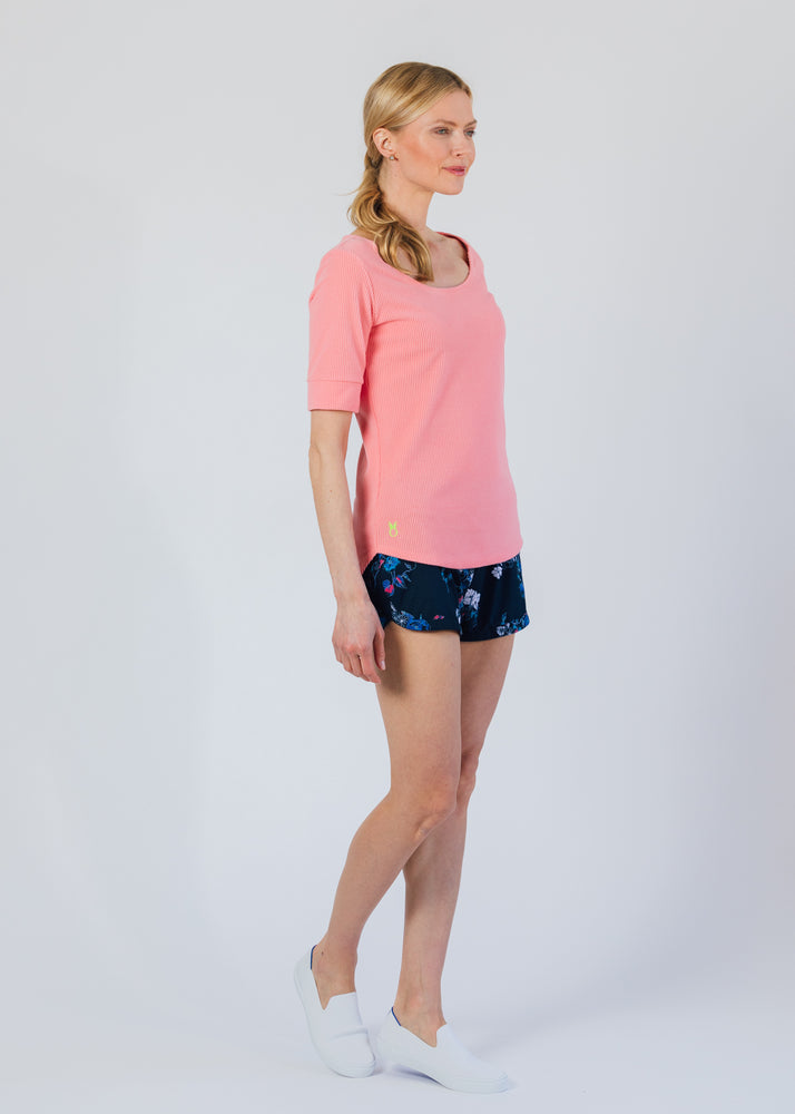 College Tee (Island Coral)