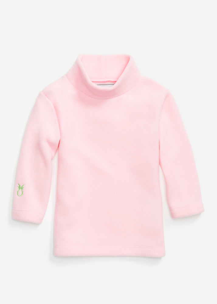 Little Girls Turtleneck (Pink)