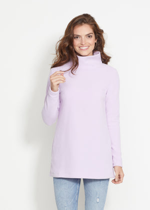 Load image into Gallery viewer, Cobble Hill Turtleneck (Lavender)