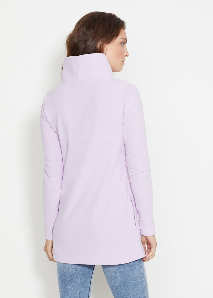 Cobble Hill Turtleneck (Lavender)