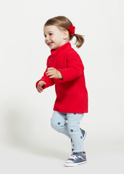 Little Girls Turtleneck (Red)