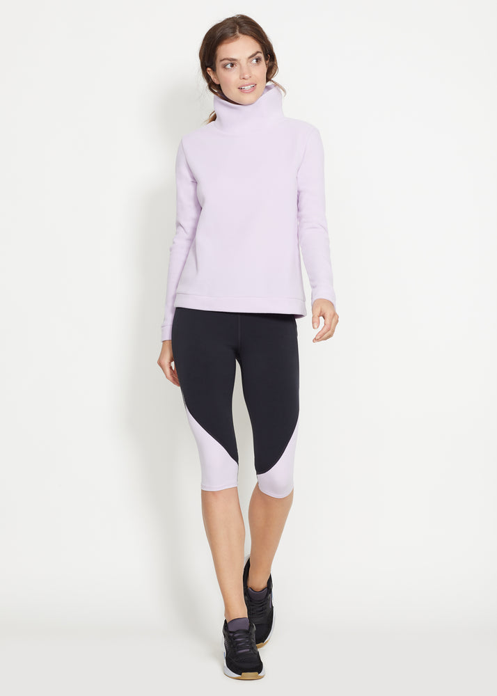 Park Slope Turtleneck (Lavender)