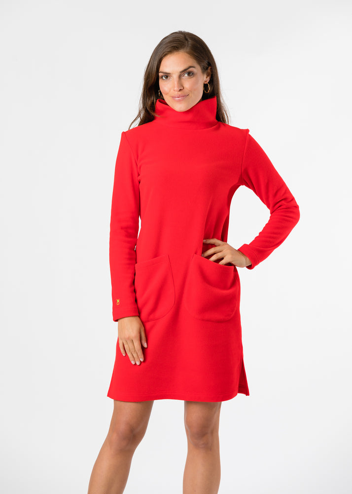 Dunham Dress (Red)