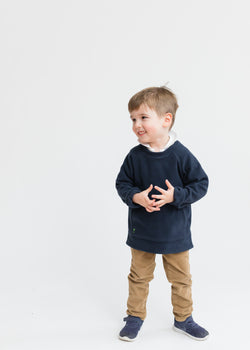 Kids Crewneck (Navy)