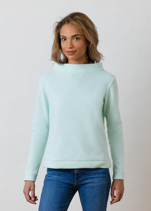 Brighton Boatneck Top (Mint Green)