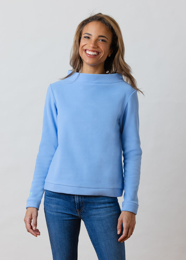 Brighton Boatneck Top (Periwinkle)