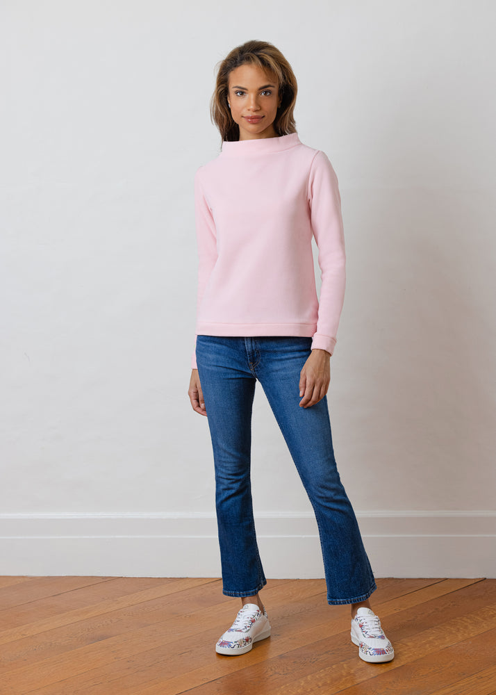Brighton Boatneck Top (Pink)