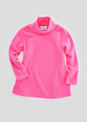 Load image into Gallery viewer, Greenbriar Girls Turtleneck (Neon Pink)