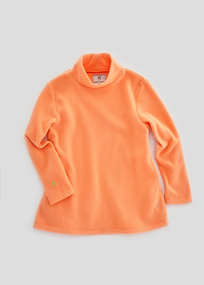 Greenbriar Girls Turtleneck (Sherbet)