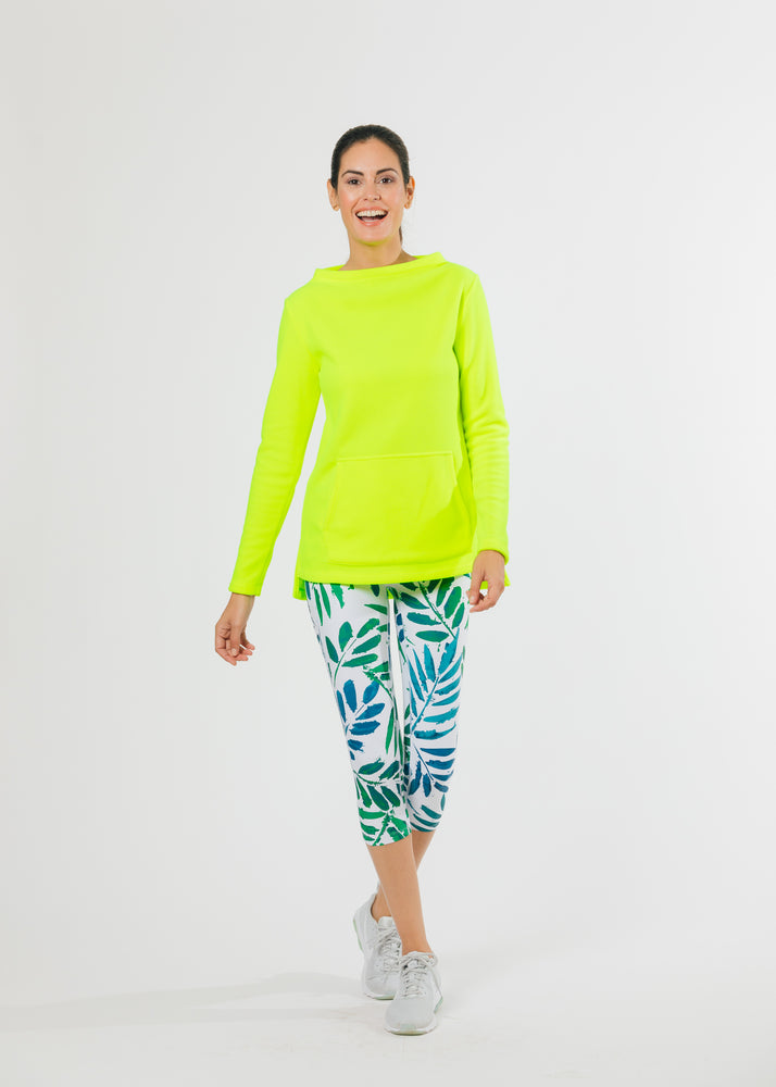 Highland High-Low Top (Neon Yellow)