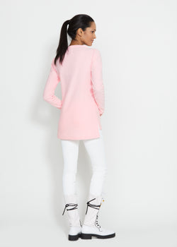 Highland High-Low Top (Pink)