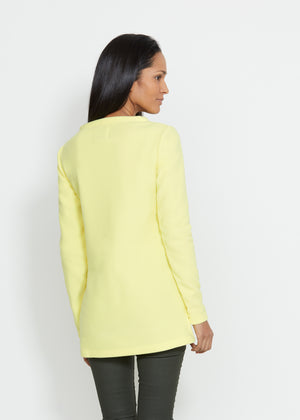 Highland High-Low Top (Soft Yellow)