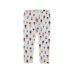 Petit Peony Ice Cream Leggings