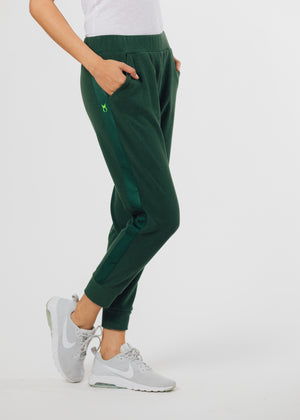Jay Joggers in Terry Fleece (Hunter Green)