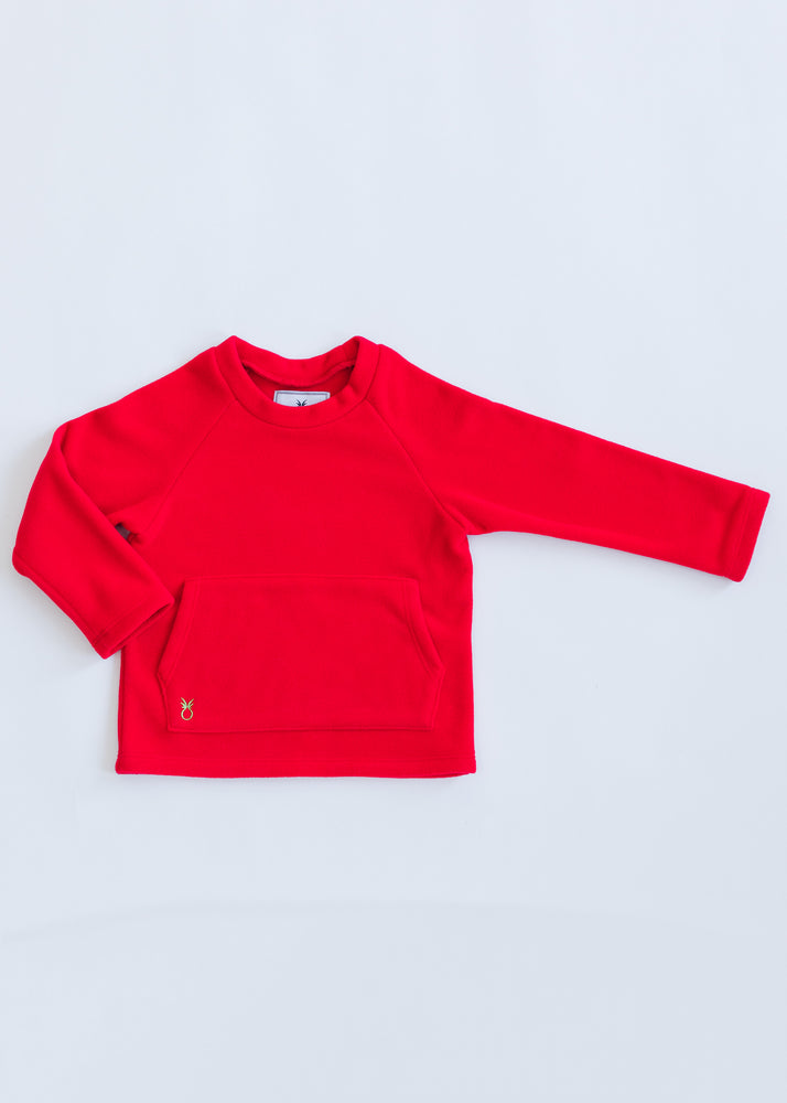 Kids Crewneck (Red)