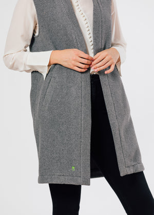 Oxford Vest (Charcoal Grey)