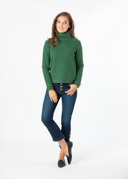 Park Slope Turtleneck (Green)