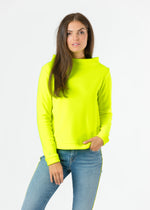 Brighton Boatneck Top (Neon Yellow)