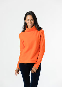 Park Slope Turtleneck (Orange)
