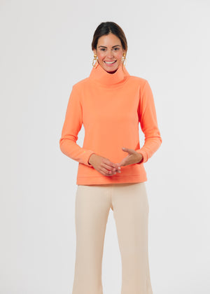 Park Slope Turtleneck (Sherbet)