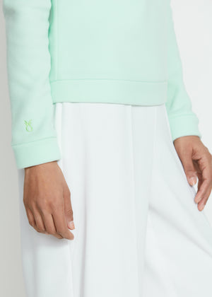 Park Slope Turtleneck (Mint Green)