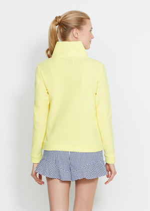 Park Slope Turtleneck (Soft Yellow)