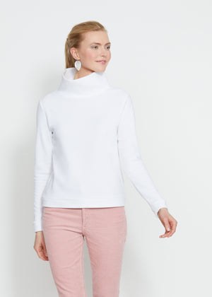 Park Slope Turtleneck (White) TH