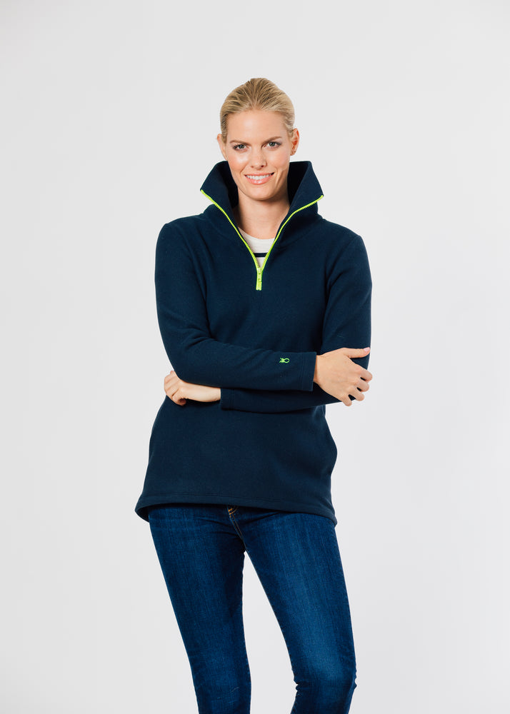 Load image into Gallery viewer, Prospect Pullover (Navy)