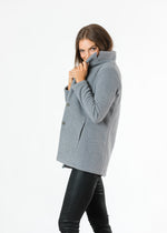 Remsen Blazer in Double Layer Vello Fleece (Charcoal Grey)