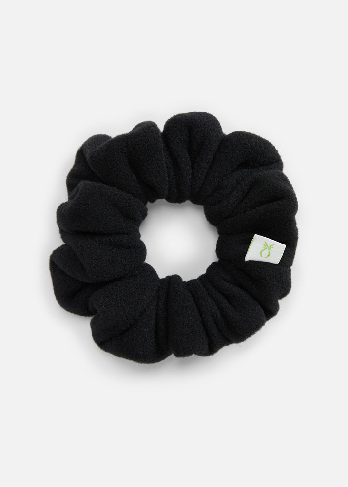 DS Scrunchie in Vello Fleece (Black)