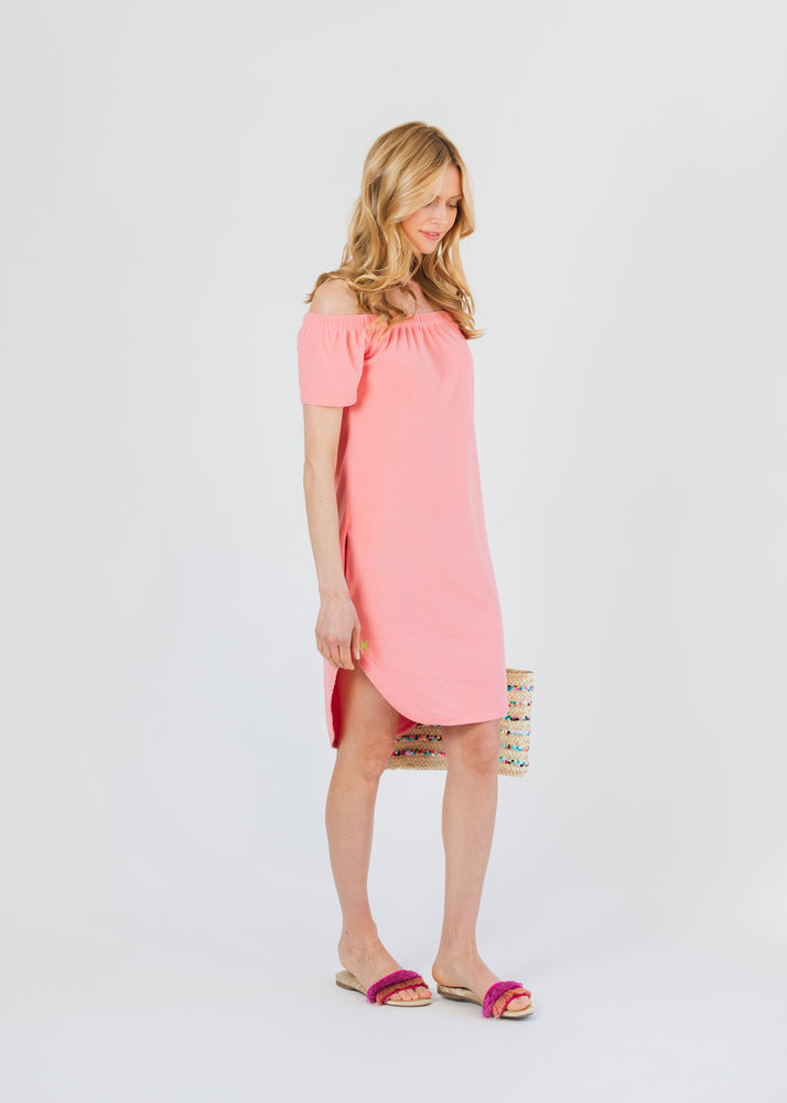 Load image into Gallery viewer, Sidney Summer Dress (Island Coral) TH