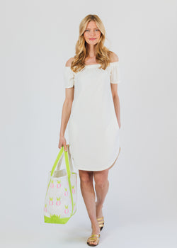 Sidney Summer Dress (Off White)