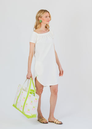 Sidney Summer Dress (Off-White) TH