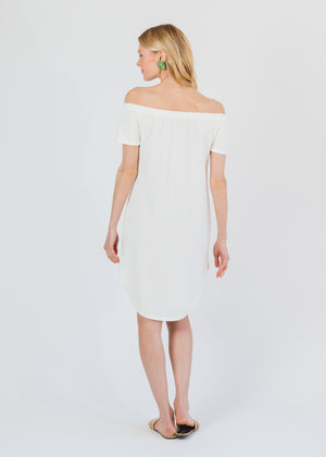 Sidney Summer Dress (Off-White)