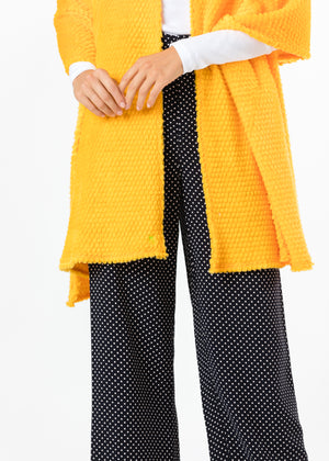 TH - Spring Street Scarf in Bubble Fleece (Marigold)