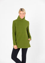 Cobble Hill Turtleneck (Moss Green)