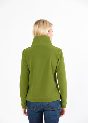 Park Slope Turtleneck (Moss Green) TH
