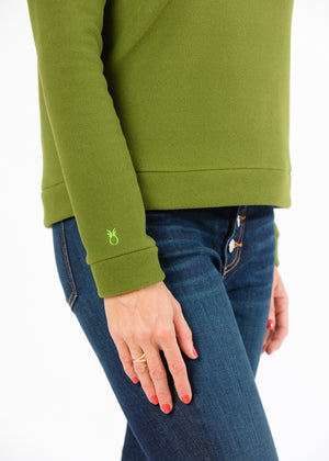 Load image into Gallery viewer, Park Slope Turtleneck (Moss Green)